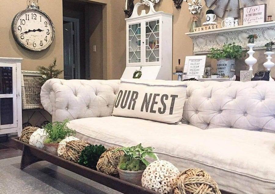 27 Rustic Farmhouse Living Room Décor Ideas for the Home
