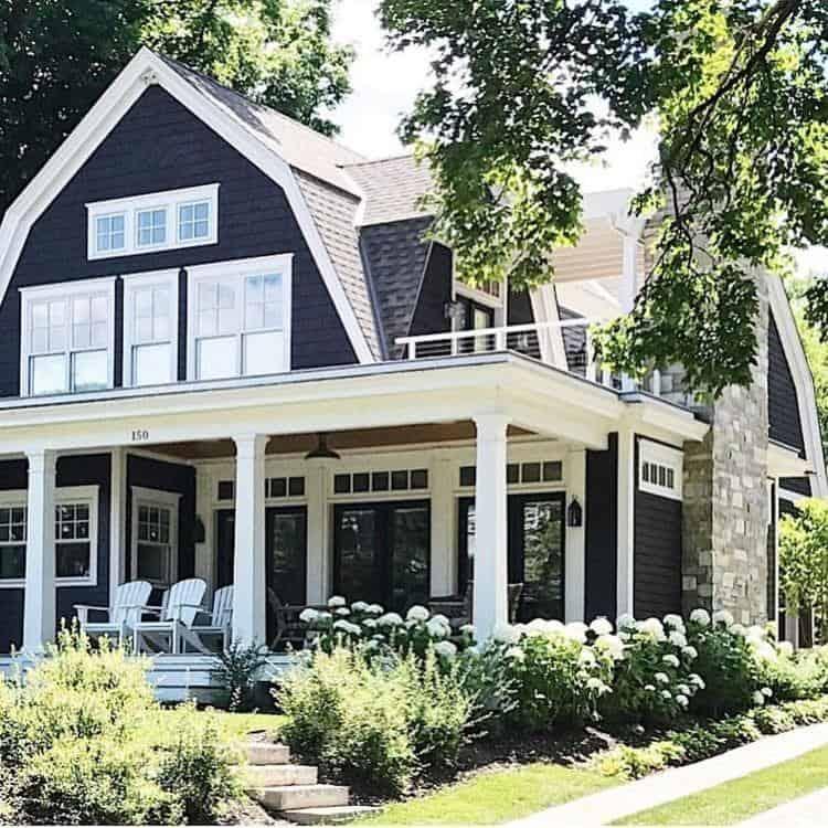 Modern Home Exterior Design Ideas 2017: 38 Modern Farmhouse Exterior Designs