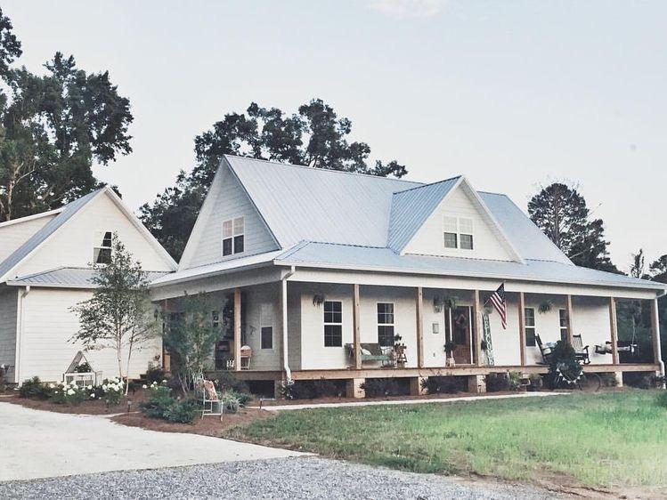38 Modern Farmhouse Exterior Designs