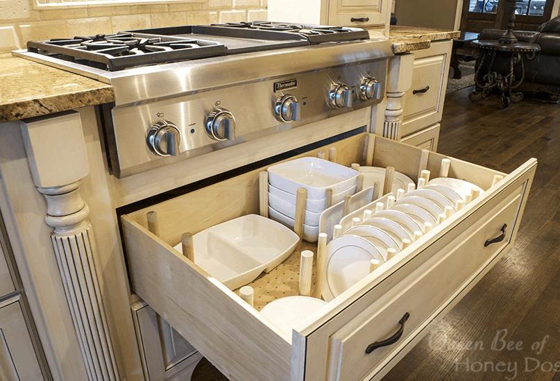 40 Easy Ways to Organize the Kitchen
