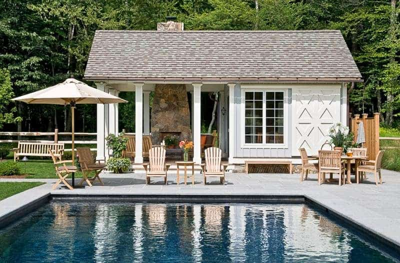 40 Pool House Designs That Feel Like a Home Away From Home