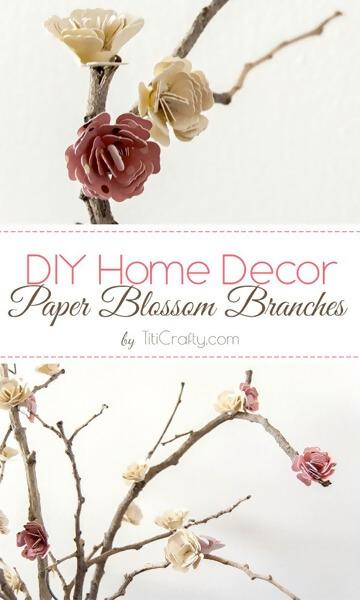 2.Branches of Paper Blossoms