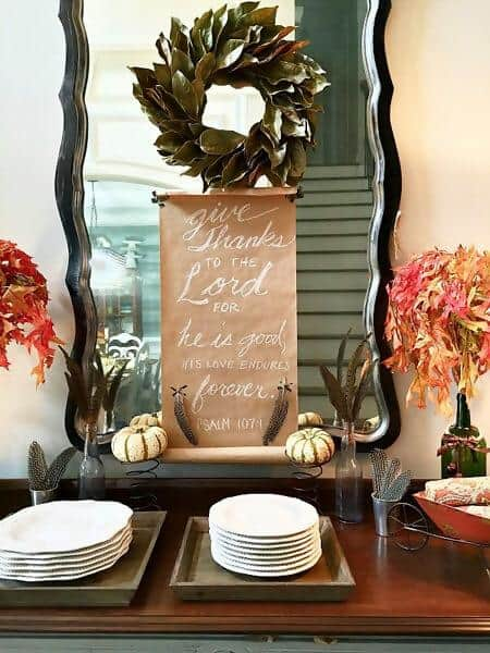 37. Autumn Around the Dining Area