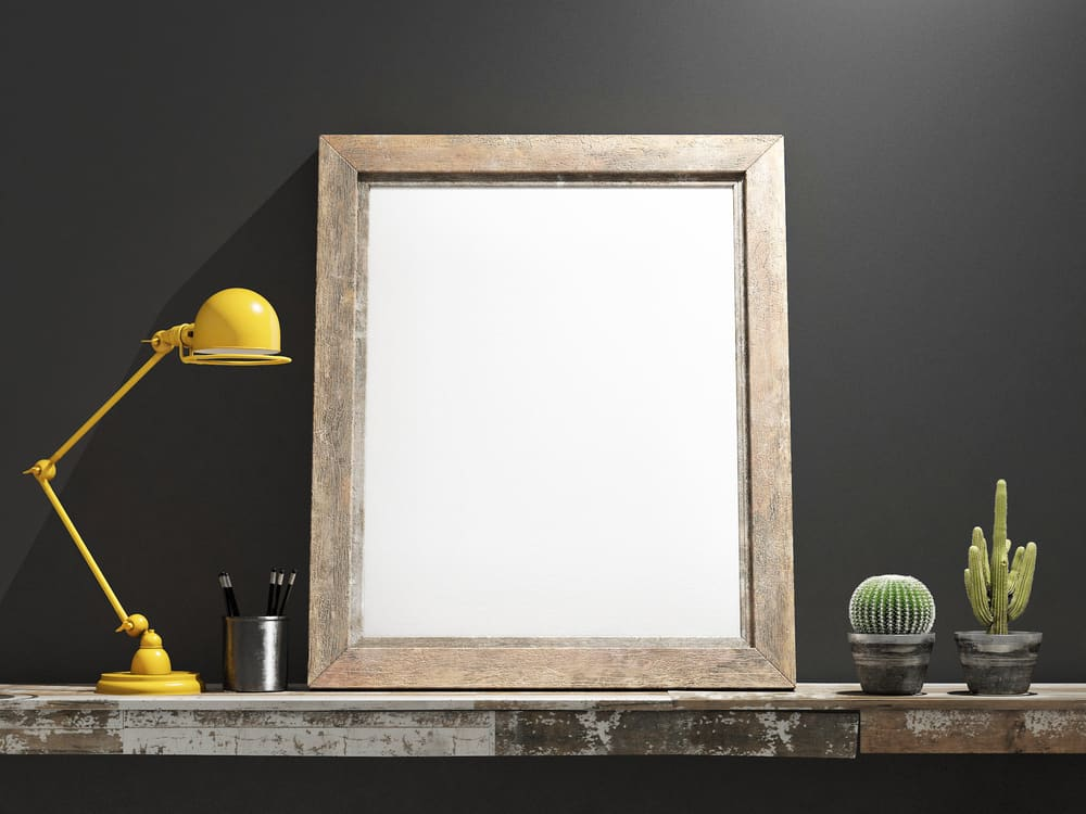 9.Take back your wooden frame.