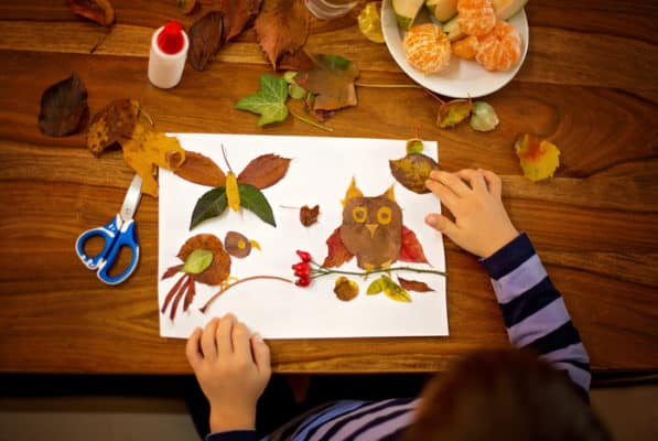 25 Clever Ways to Use Autumn Leaves