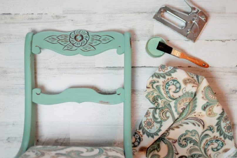 Weekend Project: How To Antique Wood and Give a Room Some Character