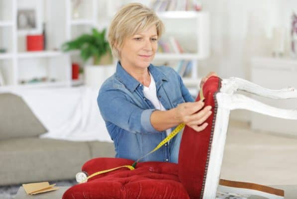 Try these Reupholstery Projects this Weekend to Transform a Room