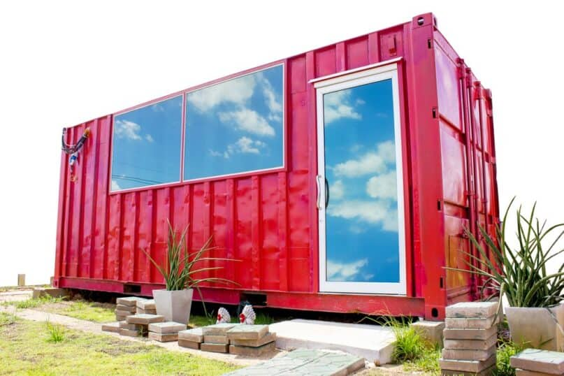 Create a Tiny House With A Shipping Container