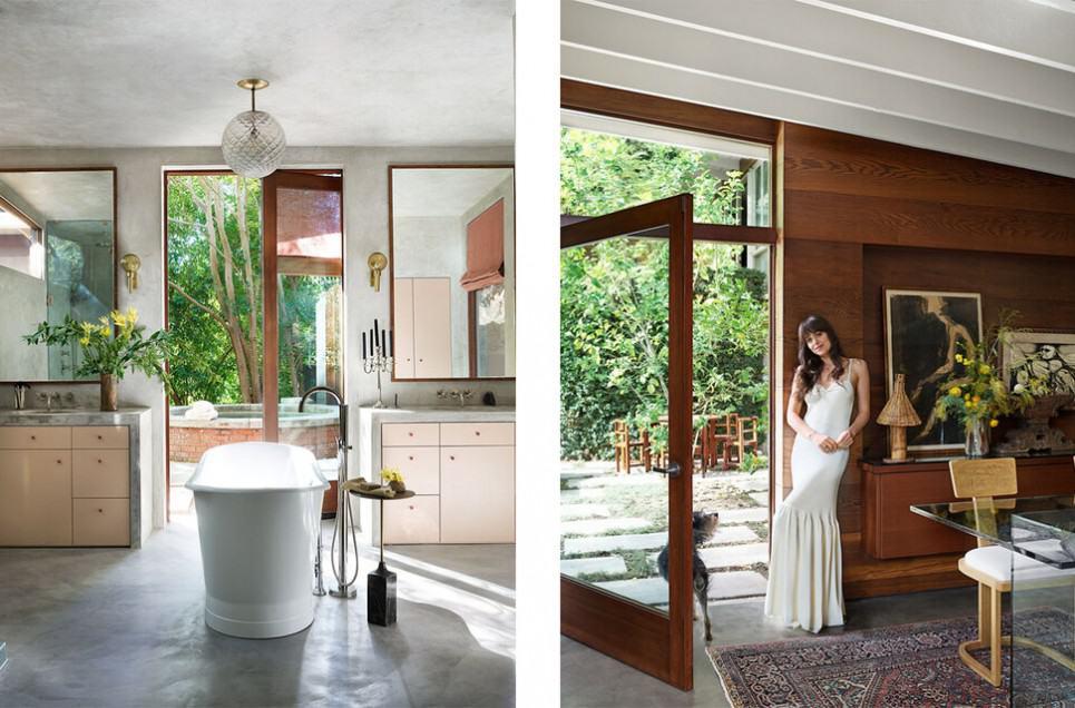 Recreating Celebrity Homes on a Budget: Dakota Johnson's Cozy Mid-Century Modern