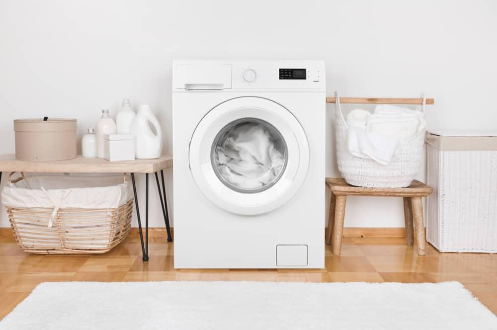 4. Level your washing machine