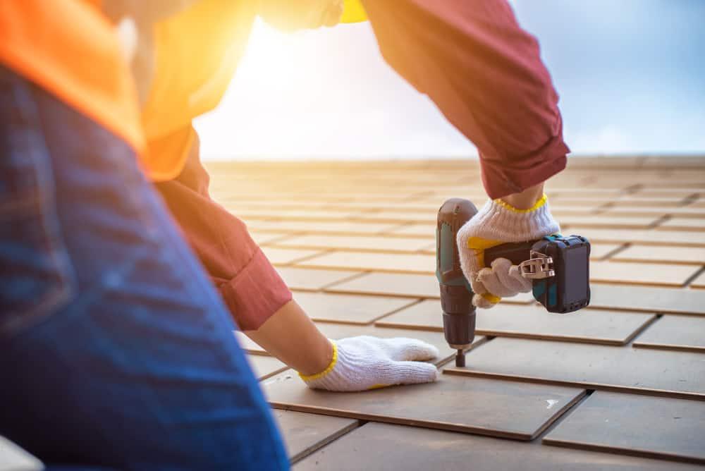 30. Repairing or replacing a roof