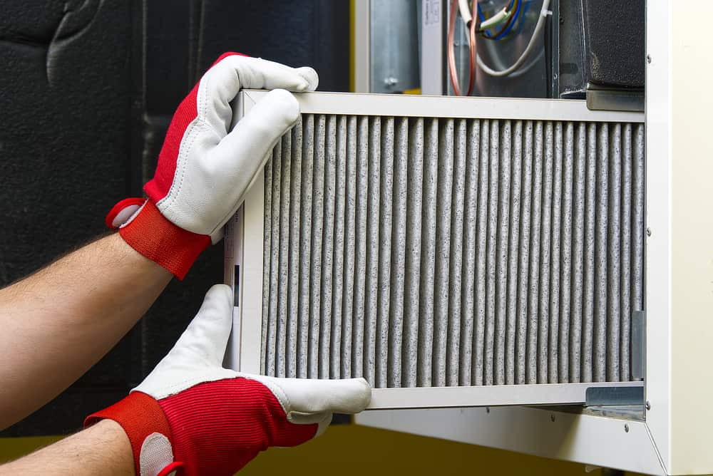 8. It is necessary to change the Furnace Filter every 90 days