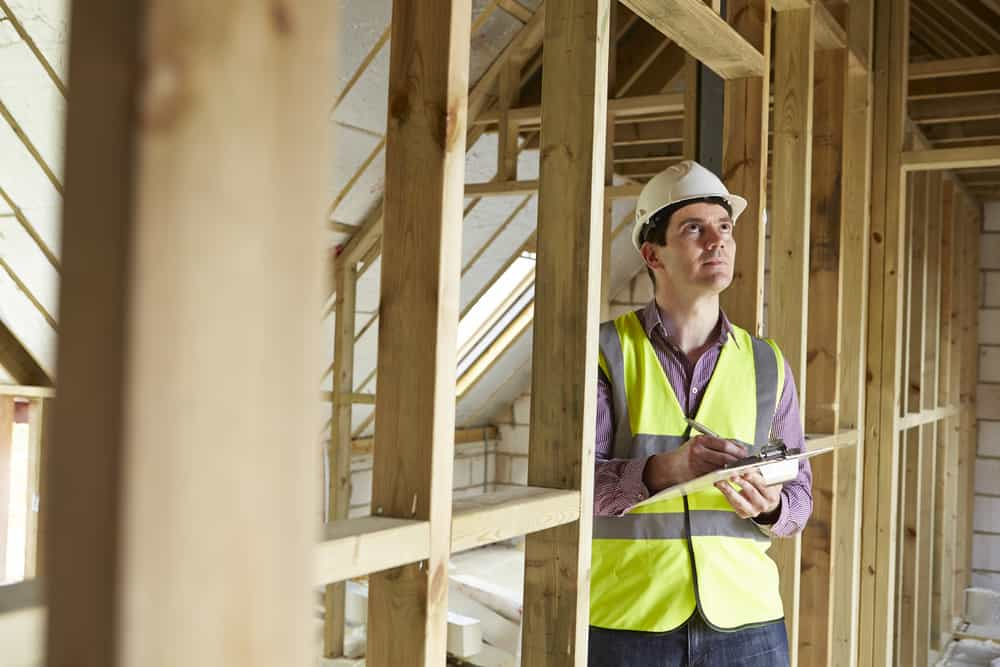 6. Invite a licensed inspector after each primary job when you build a house
