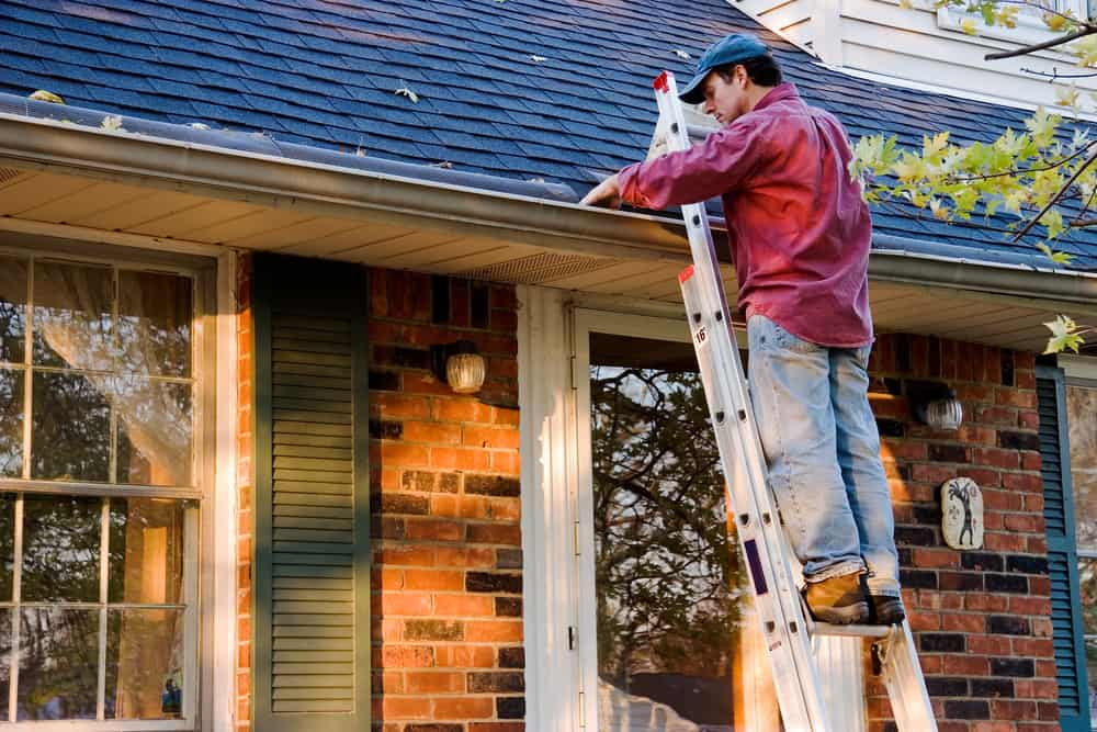 21. Keep your gutters clean and repaired to avoid water damage.